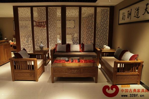 两点透视中式家具