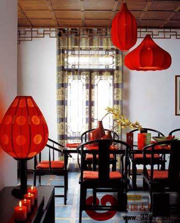 赏80后小户型中式婚房高清图片