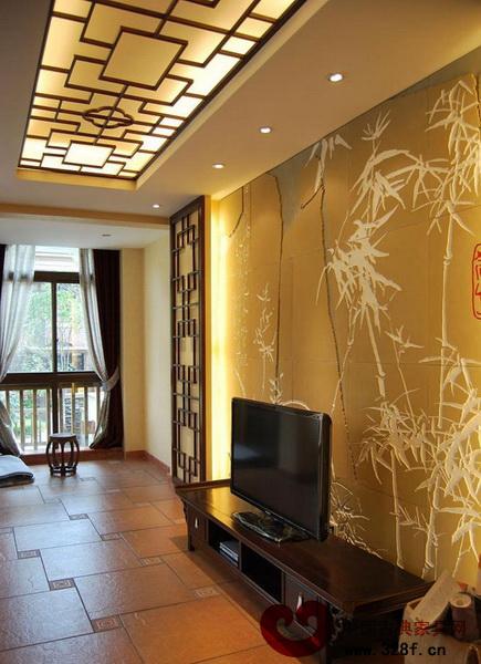 8个新中式电视背景墙 古韵与现代的融合