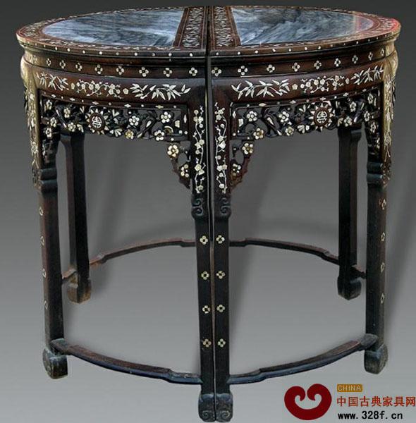 传统吉祥纹样之梅花纹-中国古典家具网