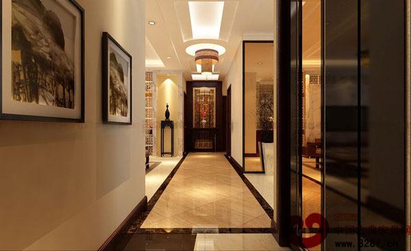 95平米三居室中式装修设计