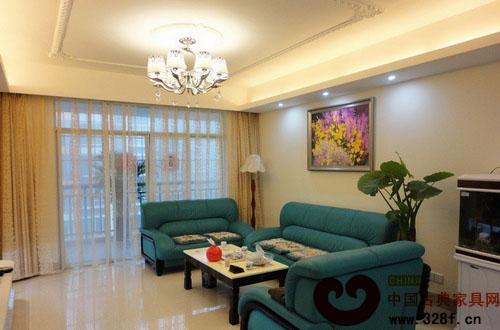 90平米完美婚房装修-品牌红木网