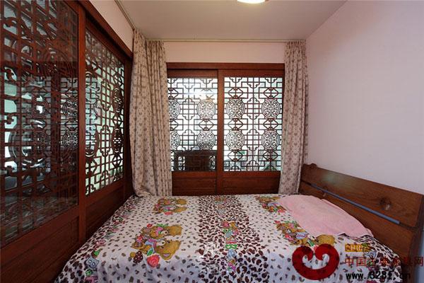 中式风格小卧室装修效果图