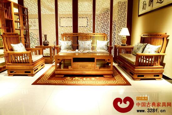 志成红木——新中式宝典沙发(缅甸花梨)