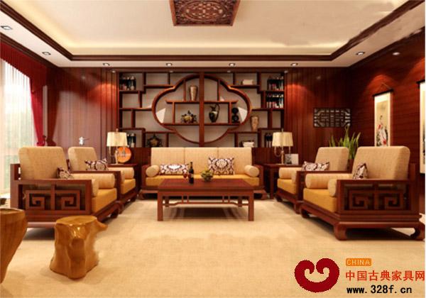 别墅中式装修选搭红木古典家具极致风格