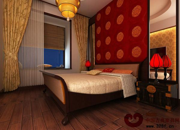 新中式风格别墅餐厅装修效果图-品牌红木网
