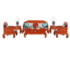 中信•前言《荷塘月色沙发》