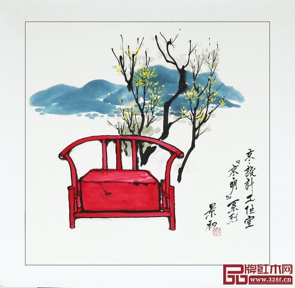 """京·设计工作室""""京明""""系列设计作品"""