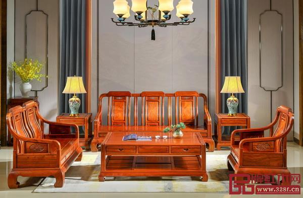 雅宋红木《浩然沙发》
