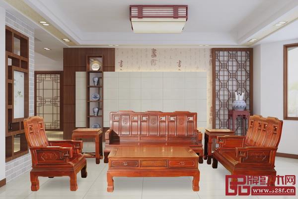 创辉红木新古典系列《祥和沙发》