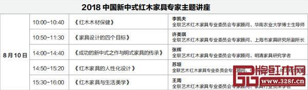 2018中国新中式红木家具专家专题讲座