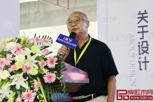 胡景初作为主办方代表为论坛致辞