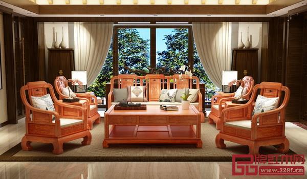 中山市雅宋红木家具有限公司《浩然沙发》
