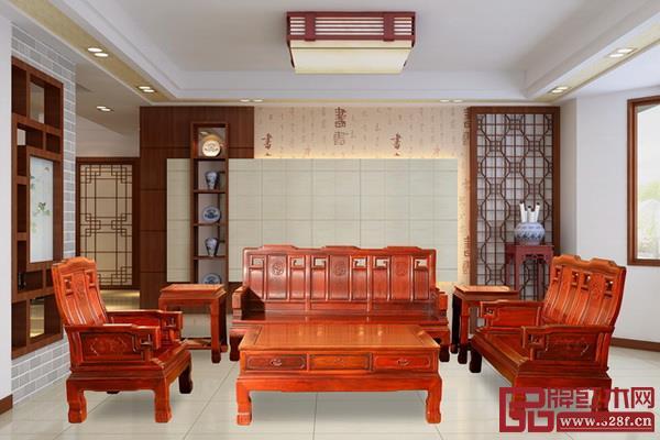 中山市创辉红木家具有限公司《祥和沙发》