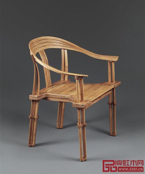 图4 台湾设计师石大宇制作的竹子圈椅