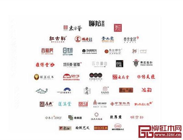 首届中国新亚博体育苹果客户端亚博体育下载苹果家具大会部分参展品牌(排名不分先后)