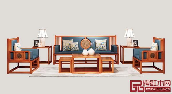 《古韵新风沙发》
