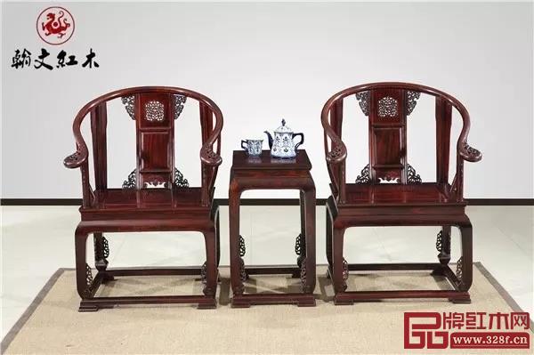 翰文红木——《皇宫椅》