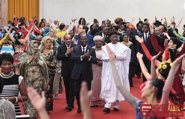 中非合作论坛北京峰会各国领导人汇聚北京
