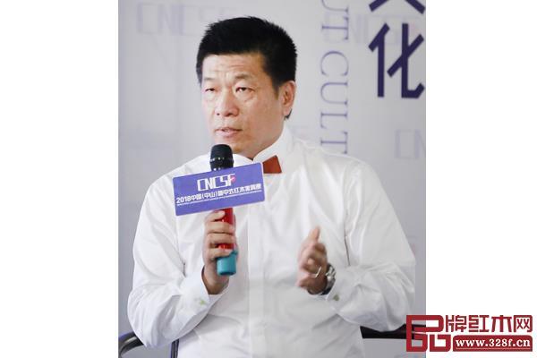 台湾永兴企业集团执行长、青木堂总经理叶武东