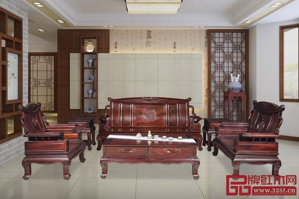 中山市顺泰轩古典家具有限公司 名称:《新春沙发》