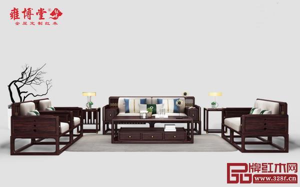 中山市雍博堂红木家具有限公司 名称:《荣观》