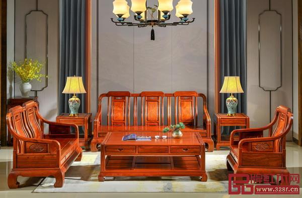 中山市雅宋红木家具有限公司 名称:《浩然沙发》