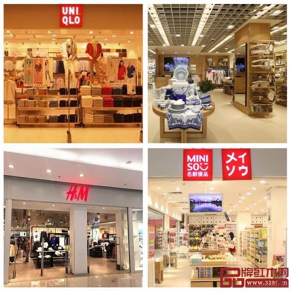 名创优品在装修风格上借鉴优衣库、Zara、H&M
