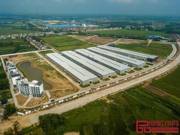 国寿红木湖北工厂