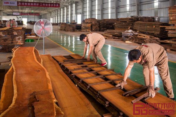 国寿红木湖北工厂已开始投产