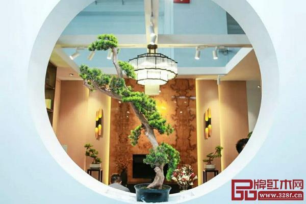 2018北京室内装饰和设计博览会暨智能云栖生活节上的中式设计
