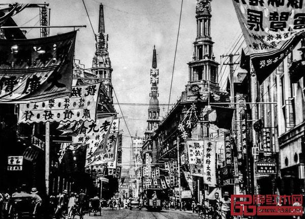 旧上海的建筑风格