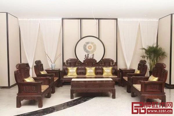 华厦·大不同精品红木家具