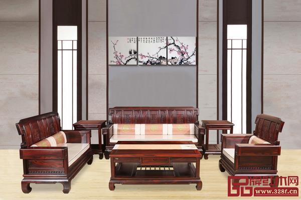 大汇堂获奖作品——《印尼黑酸枝明韵沙发》