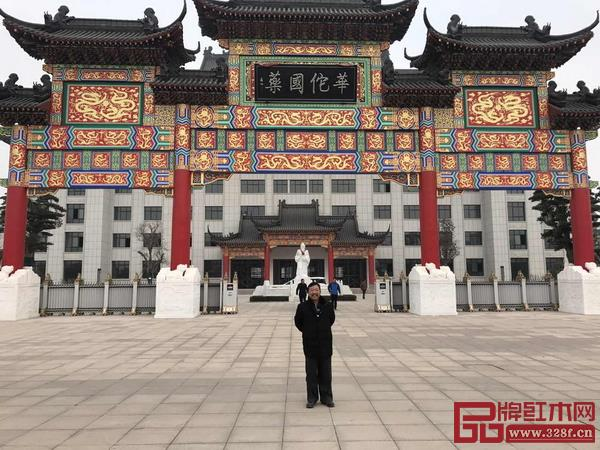 由明清工匠承建的大型古建工程——安徽华佗博物馆