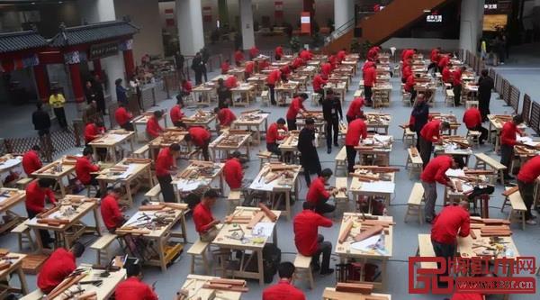 2018年中国技能大赛——全国家具制作职业技能竞赛总决赛在江西南康举行