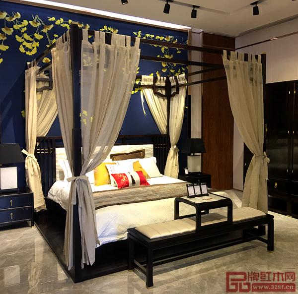 晟宝·檀一阔叶黄檀简奢新中式家具以苏作传统文化为灵感,与时尚接轨,演绎经典的魅力