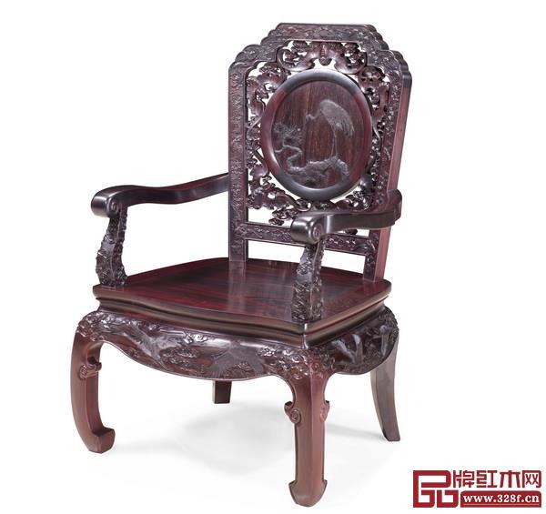 泰和园——《松鹤延年茶台·配椅》
