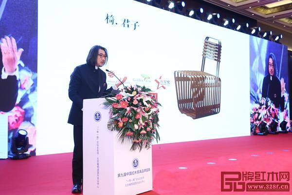 石大宇先生以自身作品为例解读原创设计的思路