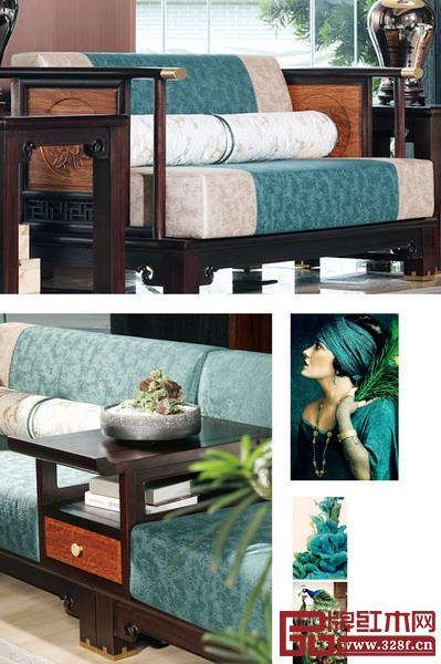 国寿·墨荷使用青色元素使整个空间彰显出气质非凡的格调,优雅而灵秀