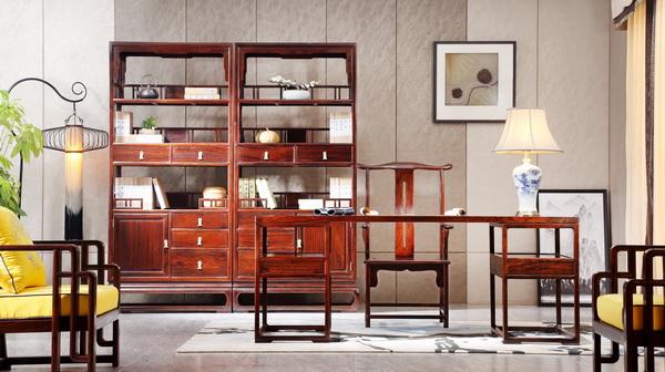 精致复古 新中式千赢国际入口创造最文艺书房