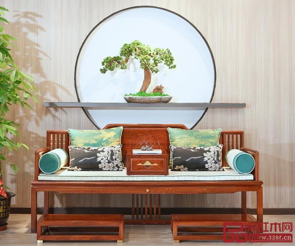 中山市印巷森刻红木家具有限公司  品牌名称:喜上梅梢  主要材质:黑檀、刺猬紫檀