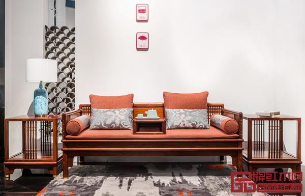 东阳市南马盛世居红木家具厂  品牌名称:名作新中式家具  主要材质:刺猬紫檀