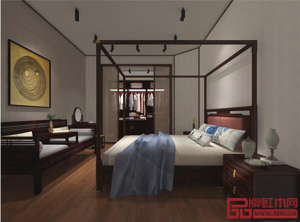 卓阅打造的新中式家居场景一