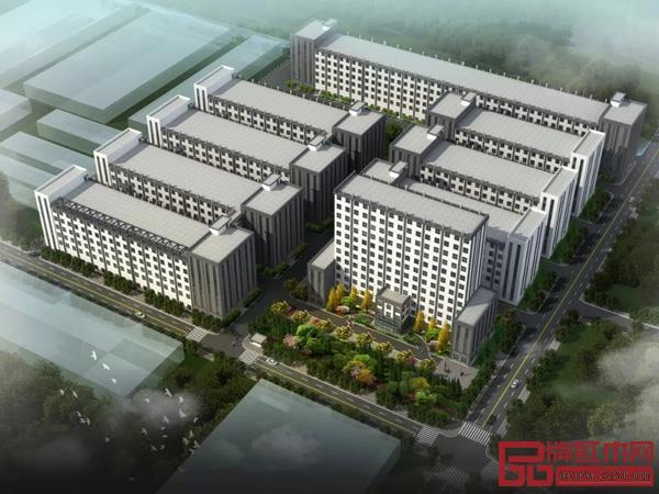 中信千赢国际入口20万平方米的标准厂房