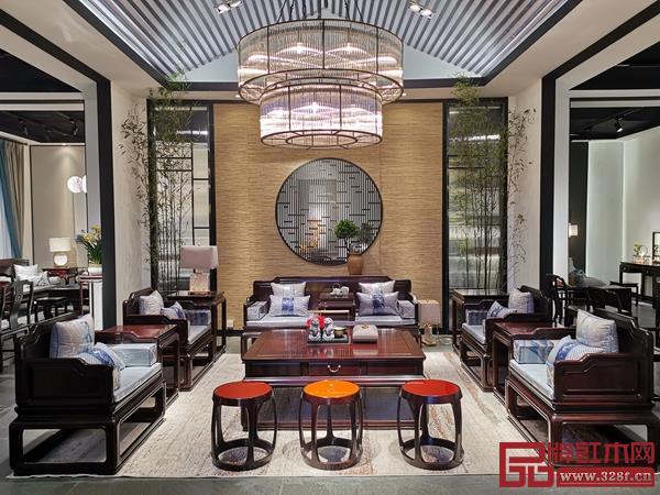 豪族旺家红木,打造正中式家居生活