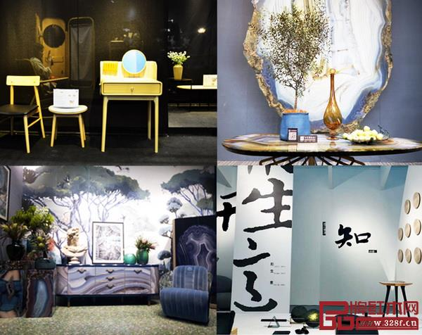 深圳时尚家居设计周暨34届深圳国际家具展上,风格各异的家具争抢眼球