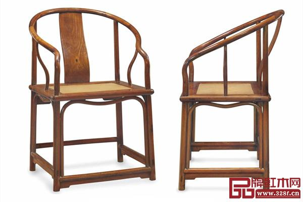 """圈椅,""""有训练的眼睛""""看着它很舒服、很漂亮。那它一定是因为遵循了匠作的黄金法则和黄金比例"""