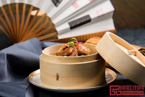 粤菜中的早点《鲍鱼蒸饭》