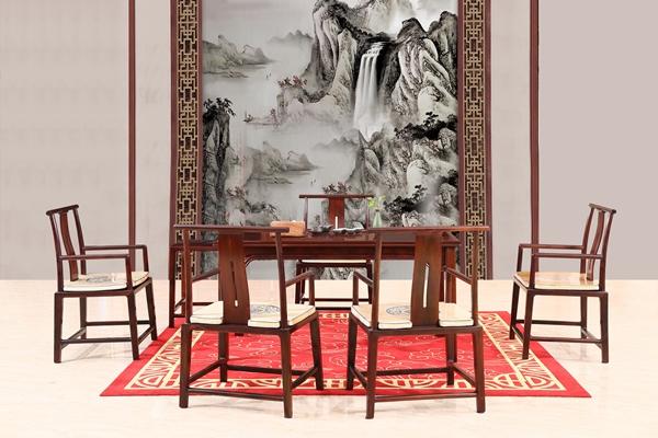 明式家具——富宝轩红木《罗杰斯茶台》